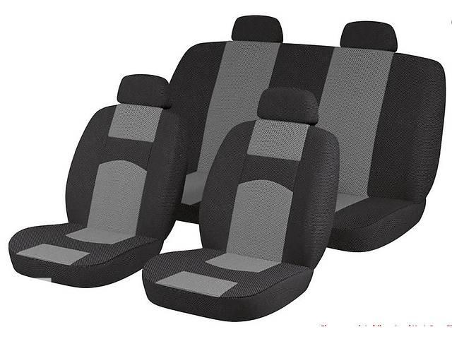 продам Чехлы универсальные черные с серым на 4 сиденья бу в Бердянске