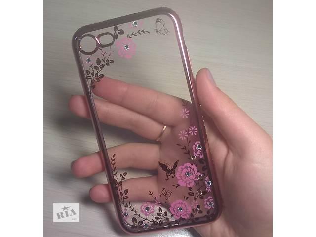 купить бу Чехол для/на айфон iPhone 7 TPU Rose Gold Pink в Киеве
