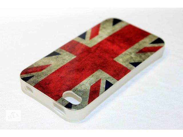 Чехол iPhone 4/4S винтажный флаг Великобритании- объявление о продаже  в Виннице
