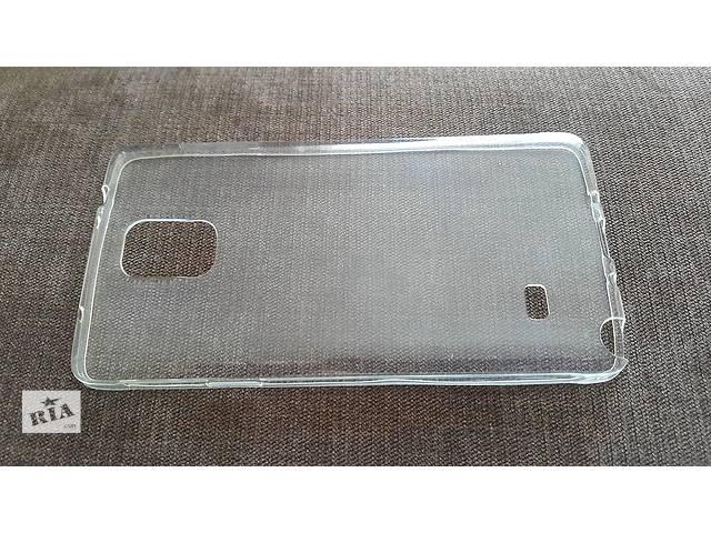 бу Чехол на Samsung Note 4 прозрачный, силиконовый. в Киеве