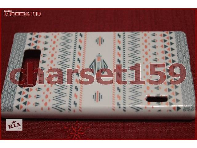 бу Чехол бампер на LG Optimus L7 P700 (пластик) в Торецке (Дзержинске)