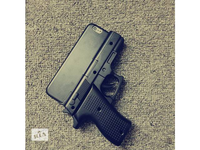 Gun shaped phone case iphone 6 phone case for iphone 6