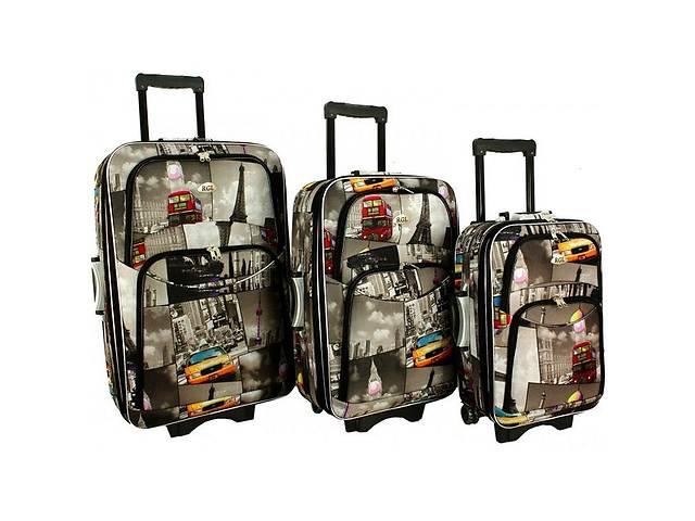 купить бу Чемодан сумка 773 набор 3 штуки в Тернополе