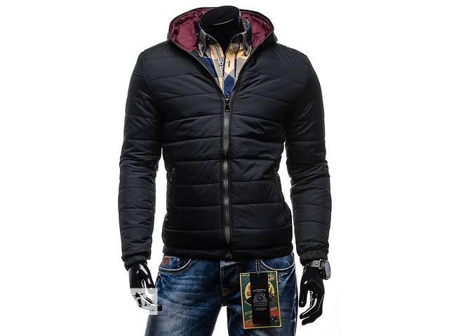Черная дутая зимняя куртка на синтепоне- объявление о продаже  в Черкассах
