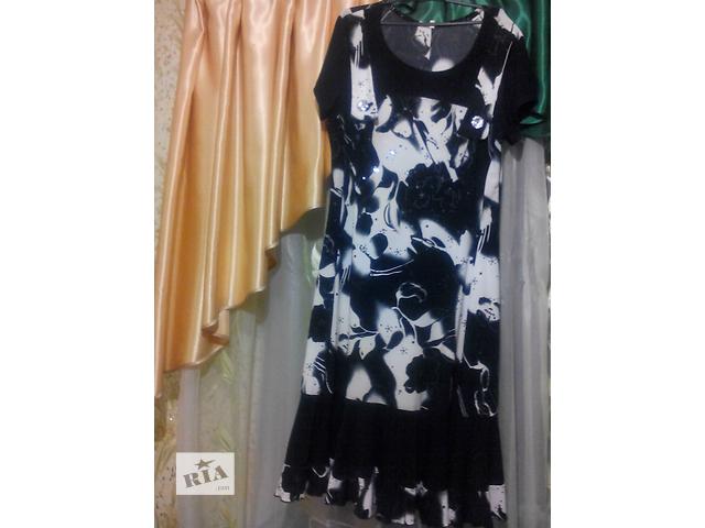 купить бу Черно-белое платье. в Умани