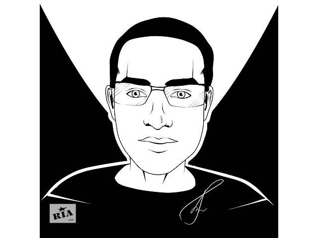 продам Чёрно-белый (Арт) портрет бу  в Украине