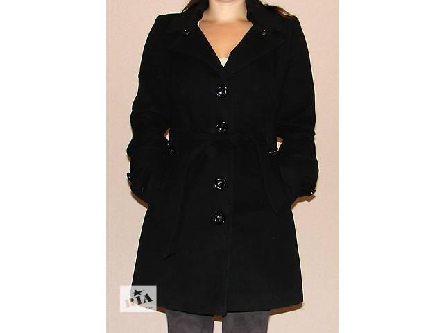 купить бу Черное кашемировое пальто Nuivery в Харькове