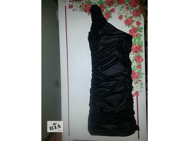 купить бу Черное платье на одно плече в Умани