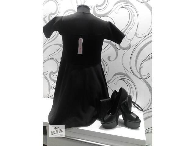 купить бу Чёрное платье в Житомире