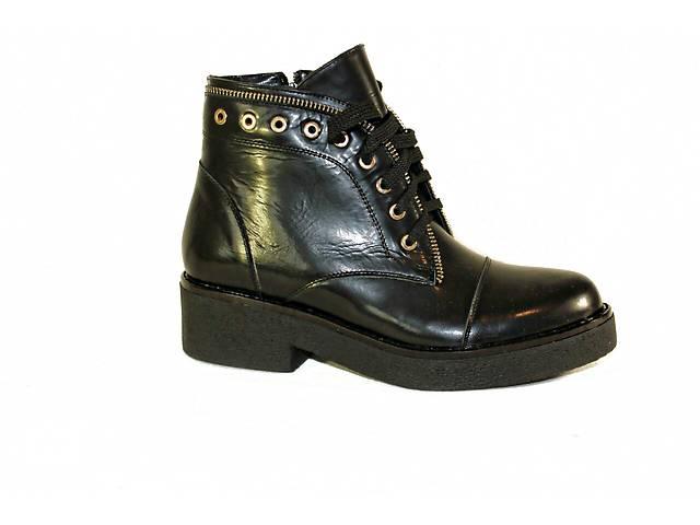 продам Черные ботинки на шнурках код Дакотаб1 бу в Николаеве