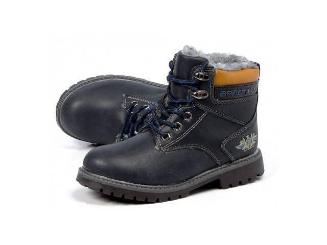 купить бу Черные детские зимние ботинки модель EMBERLEE от интернет- магазина likeday.com.ua в Киеве