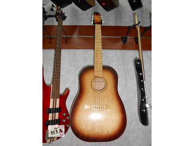 продам ( 0953 ) Черниговская акустическая концертная гитара и ее Видео Обзор бу в Чернигове