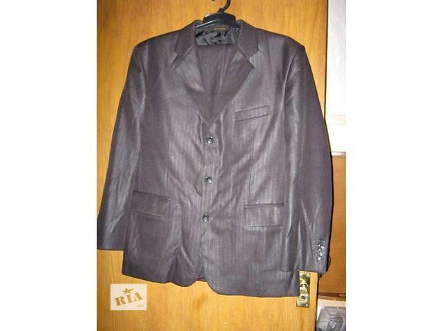 Черный классический костюм на рост 128-134 можно как школьная форма- объявление о продаже  в Киеве
