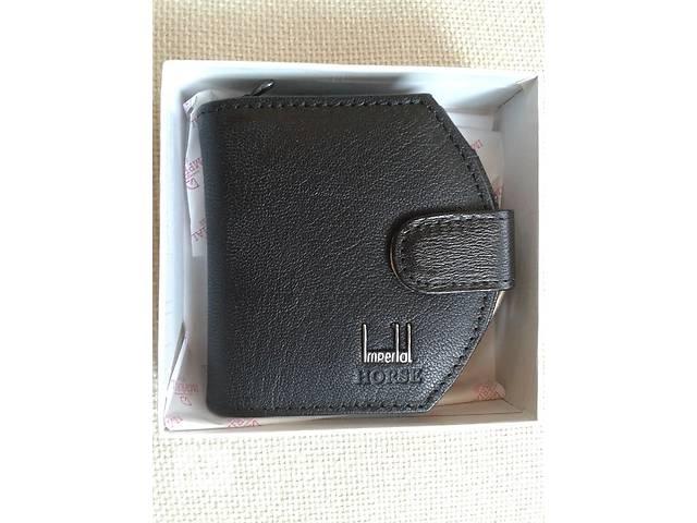 Черный кожаный кошелек- объявление о продаже  в Ужгороде