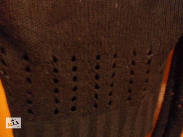 Черный вязанный свитер, бренд Vila, Дания.- объявление о продаже  в Стрые