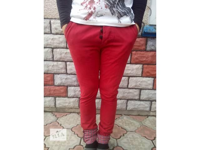 Красные мужские джинсы!- объявление о продаже  в Тернополе