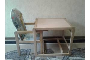 б/у Детские стулья трансформеры