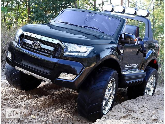 продам Детский электромобиль Ford Ranger 4х4, 2 акумулятора и 4 мотора бу в Львове