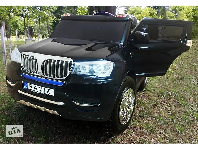 купить бу Детский электромобиль BMW S8088: надувные колеса, кож.сидение, 4 мотора и 2 аккум-ра в Львове