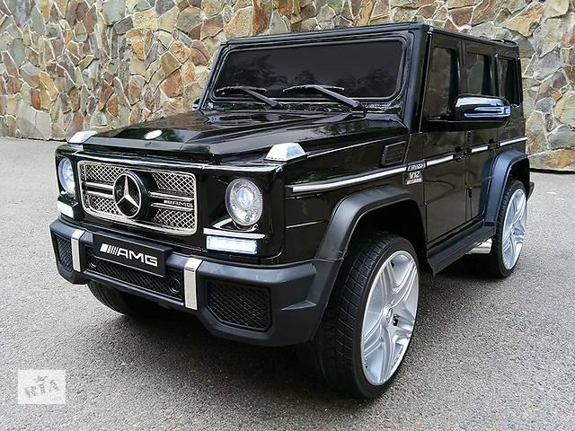 Детский электромобиль Mercedes AMG G65 VIP: кузов с автопокраской, кож. сидение и резиновые колеса EVA- объявление о продаже  в Львове