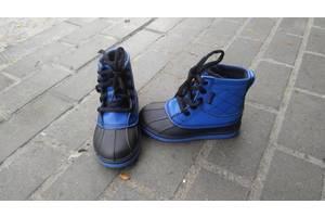 б/у Детские демисезонные ботинки Crocs