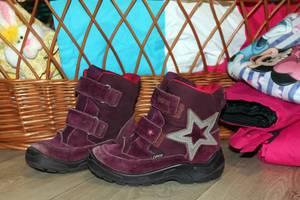 б/у Детские зимние ботинки Eссо