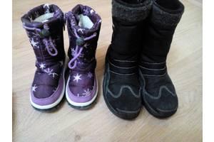 б/у Дитячі зимові чоботи