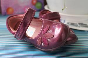 б/у Детские туфли для девочек Clarks
