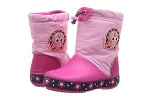 Новые Детские зимние сапоги Crocs