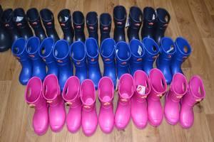 Нові Дитячі гумові чобітки
