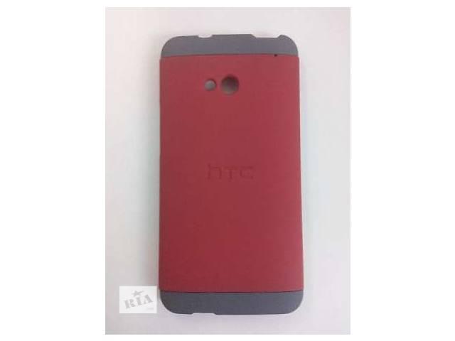 бу Чехол HTC Double Dip для One M7 red-silver в Червонограде