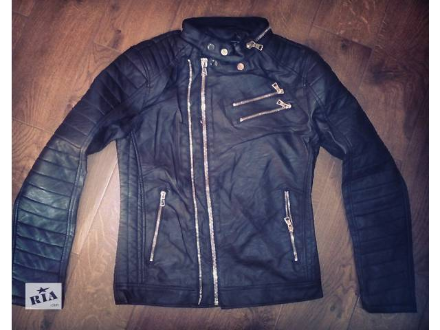 купить бу Чоловіча куртка з екошкіри в Тернополе