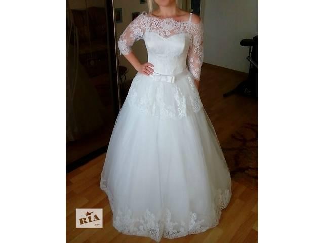 продам Чудесное свадебное платье бу в Самборе