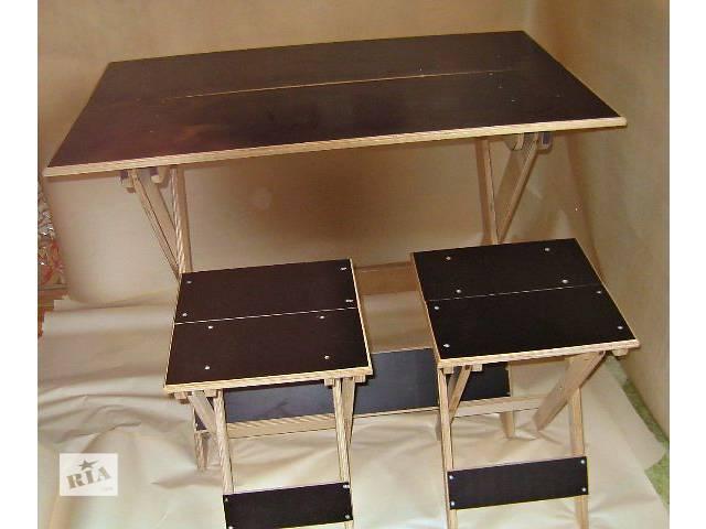Столик складной из фанеры