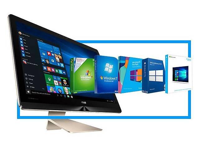 Установка Windows(переустановка виндовс).Настройка,драйвера,программы