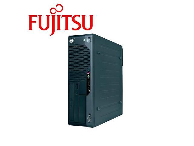 купить бу Fujitsu e5731 SFF Intel Core 2 Duo e8400 / 4GB DDR3 / 160ГБ HDD / НОВА nVidia GeForce GT 710 2GB GDDR5 + Наклейка Win7 в Києві