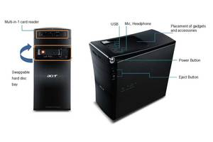 б/в Системні блоки комп'ютера Acer