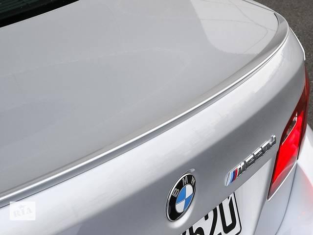 купить бу Cпойлер сабля тюнинг BMW F10 стиль M Sport в Луцке