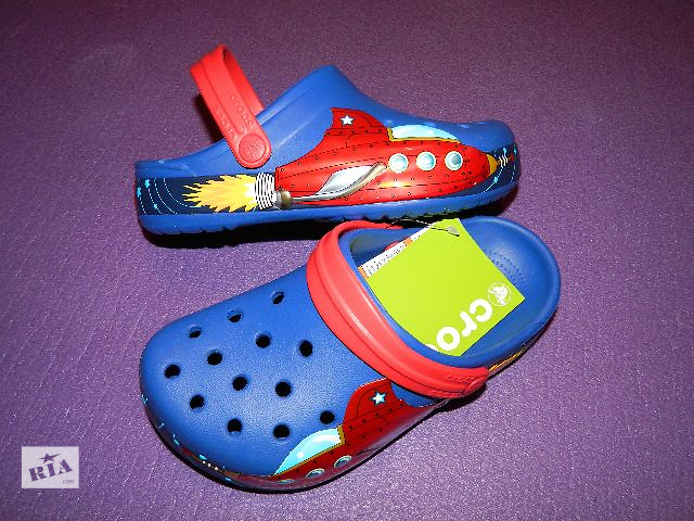 Crocs Galactic Clog Кроксы детские размер J3- объявление о продаже  в Киеве