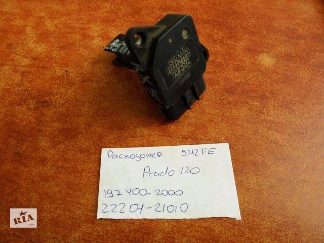 купить бу Датчик кислорода , расходомер  Toyota Land Cruiser Prado 120 5MZFE   197400-2000  22204-21010 в Одессе