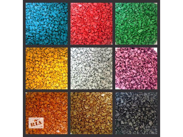 Декоративная цветная крошка (щебень, гравий)- объявление о продаже  в Тячеве