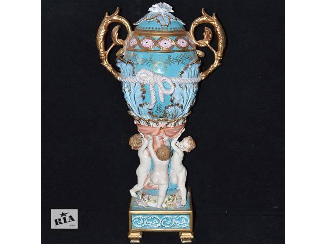 купить бу Декоративная ваза с путти в Харькове
