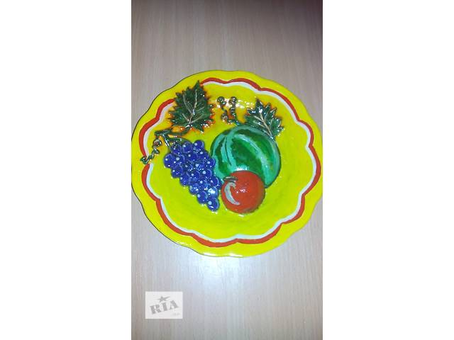 купить бу декоративные тарелки в Умани