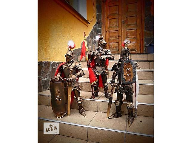 бу Декоративные изделия из жести (рыцари) высота 50 см. в Львове