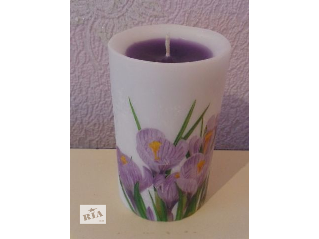 Декоративные свечи- объявление о продаже  в Токмаке