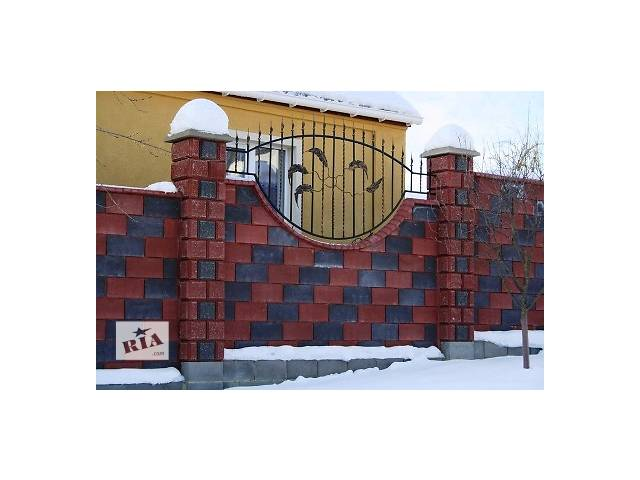 Декоративные Заборные Блоки.- объявление о продаже  в Киеве