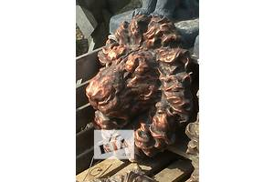 Декоративные элементы для фасада Голова льва барельеф новый