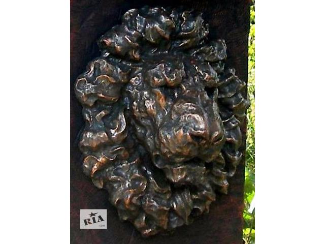 Декоративные элементы для фасада Голова льва барельеф новый- объявление о продаже  в Виннице