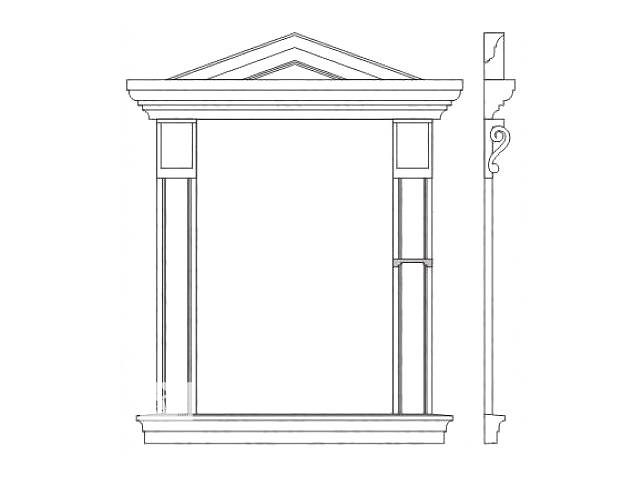 бу Декорирование окон и дверей в Николаеве