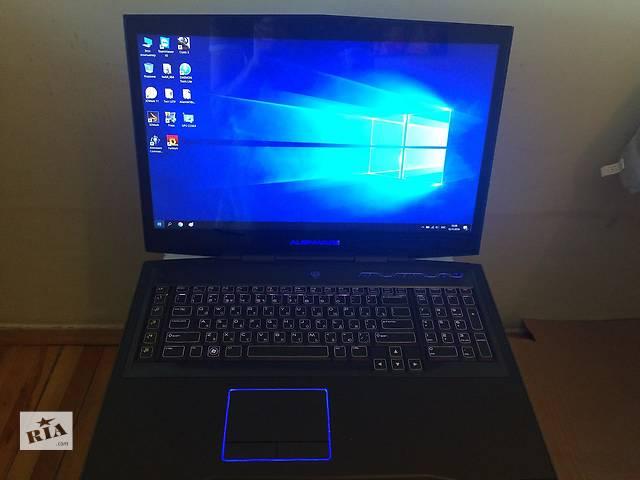 бу Dell Alienware m18xR2 Мощный игровой ноутбук. в Львове